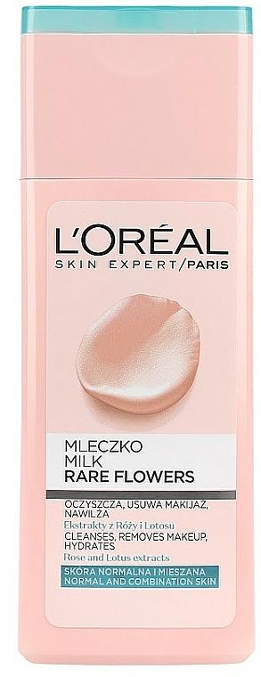 Latte detergente viso - L'Oreal Paris Rare Flowers Face Milk