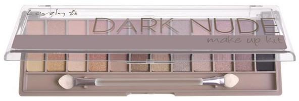 Palette ombretti - Lovely Dark Nude Make Up Kit