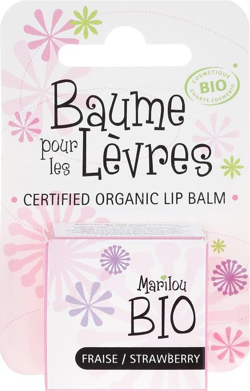 """Burrocacao """" Fragola"""" - Marilou Bio Certified Organic Lip Balm — foto N1"""