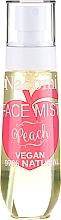"Profumi e cosmetici Spray viso ""Pesca"" - Nacomi Face Mist Peach"