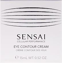 Profumi e cosmetici Crema rivitalizzante con effetto anti-età per il contorno occhi - Kanebo Sensai Cellular Performance Eye Contour Cream