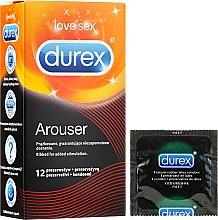 Profumi e cosmetici Preservativi, 12 pezzi - Durex Arouser