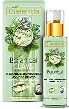 Profumi e cosmetici Siero-booster viso all'argilla verde - Bielenda Botanical Clays Vegan Serum Booster Green Clay