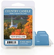 Profumi e cosmetici Cera per lampada aromatica - Country Candle New England Wax Melts