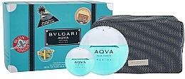 Profumi e cosmetici Bvlgari Aqva Pour Homme Marine - Set (edt/100ml + edt/mini/15ml + bag)