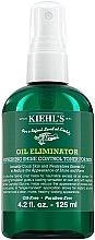 Profumi e cosmetici Spray rinfrescante antigrasso, da uomo - Kiehl's Oil Eliminator Refreshing Shine Control Spray Toner