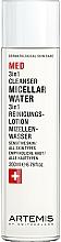Profumi e cosmetici Acqua micellare - Artemis of Switzerland Med 3in1 Cleanser Micellar Water