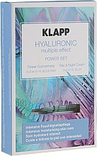 Profumi e cosmetici Set - Klapp Hyaluronic Multiple Effect Power Set (f/conc/3x2ml + f/cr/3ml)