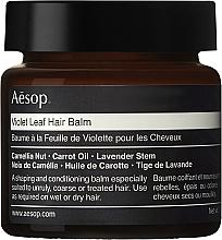 Profumi e cosmetici Balsamo per capelli - Aesop Violet Leaf Hair Balm