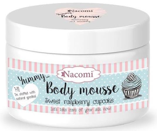 "Mousse corpo ""Sweet Raspberry Cupcake"" - Nacomi Body Mousse"