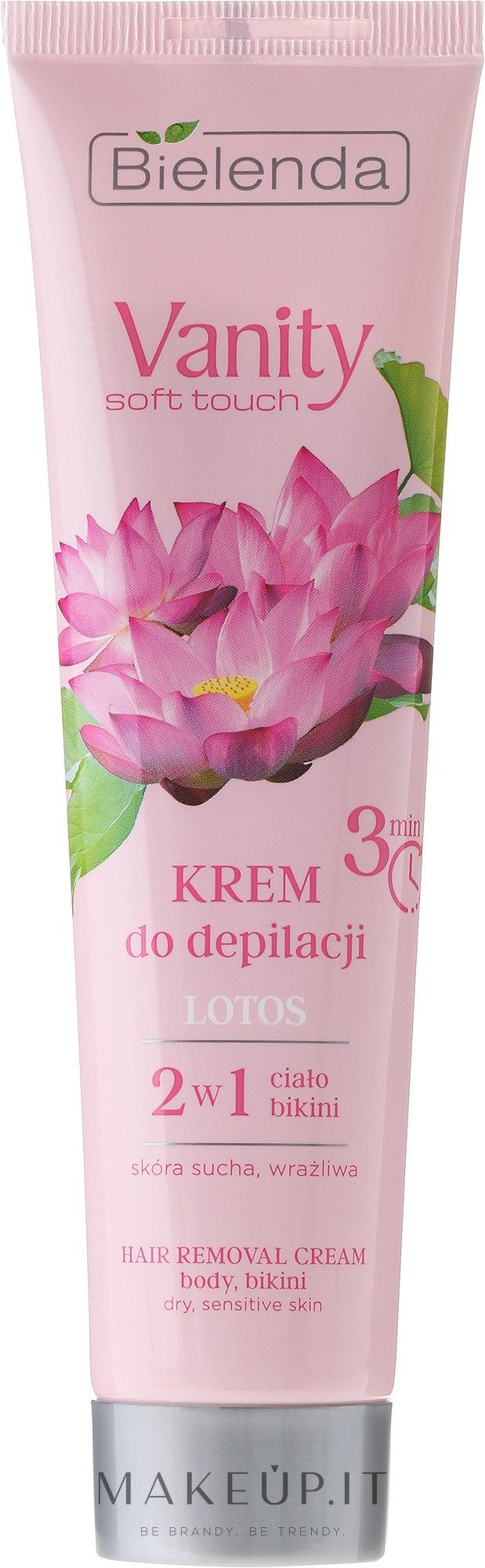 "Crema depilatoria ""Lotos"" - Bielenda Vanity Soft Touch Lotos — foto 100 ml"