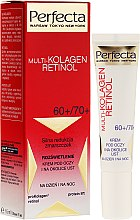Profumi e cosmetici Crema contorno occhi - Dax Cosmetics Perfecta Multi-Collagen Retinol Eye Cream 60+/70+