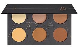 Profumi e cosmetici Pallette per il contouring - Zoeva Cream Contour Spectrum Palette