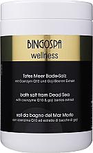 Profumi e cosmetici Sale termale del Mar Morto con coenzima Q10 ed estratto di bacche di goji - BingoSpa Salt For Bath SPA of Dead Sea
