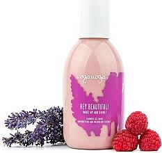 Profumi e cosmetici Gel doccia con olio di lavanda ed estratto di lampone - Uoga Uoga Shower Gel