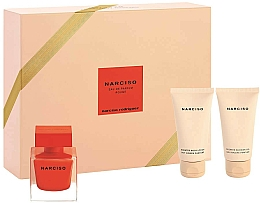 Profumi e cosmetici Narciso Rodriguez Narciso Rouge - Set (edp/50ml + b/lot/50ml + sh/gel/50ml)