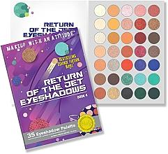 Profumi e cosmetici Palette ombretti - Rude Return Of The Jet Eyeshadow Palette