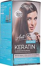 Profumi e cosmetici Set - Kativa Anti-Frizz Straightening Without Iron Xpert Repair (h/mask/150ml + shmp/30ml + h/cond/30ml)