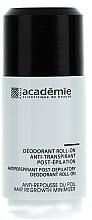 Profumi e cosmetici Deodorante antitraspirante dopo l'epilazione - Academie Acad'Epil Deodorant Roll-on Specifique Post