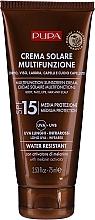 Profumi e cosmetici Crema solare idratante SPF 15 - Pupa Multifunction Sunscreen Cream