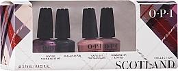 Profumi e cosmetici Set - OPI Scotland Nail Lacquer Set
