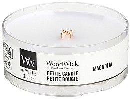 Profumi e cosmetici Candela profumata in vetro - Woodwick Petite Candle Magnolia