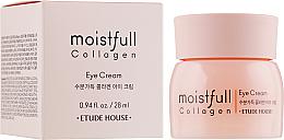 Profumi e cosmetici Crema contorno occhi al collagene - Etude House Moistfull Collagen Eye Cream
