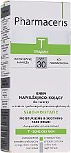 Profumi e cosmetici Crema idratante post acne - Pharmaceris T Sebo-Moistatic Cream SPF30