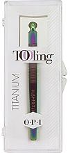Profumi e cosmetici Set - O.P.I. Tooling Dexterity Titanium (tool/1pcs+cuticule/treat/30ml)
