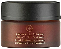 Profumi e cosmetici Crema viso antietà - Innossence Innor Gold Anti-Aging Cream