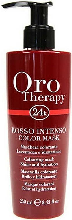 """Maschera capelli tonificante """"Rossa"""" - Fanola Oro Therapy Colouring Mask"""