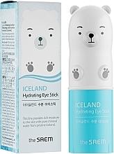 Profumi e cosmetici Stick contorno occhi idratante con acqua glaciale - The Saem Iceland Hydrating Eye Stick