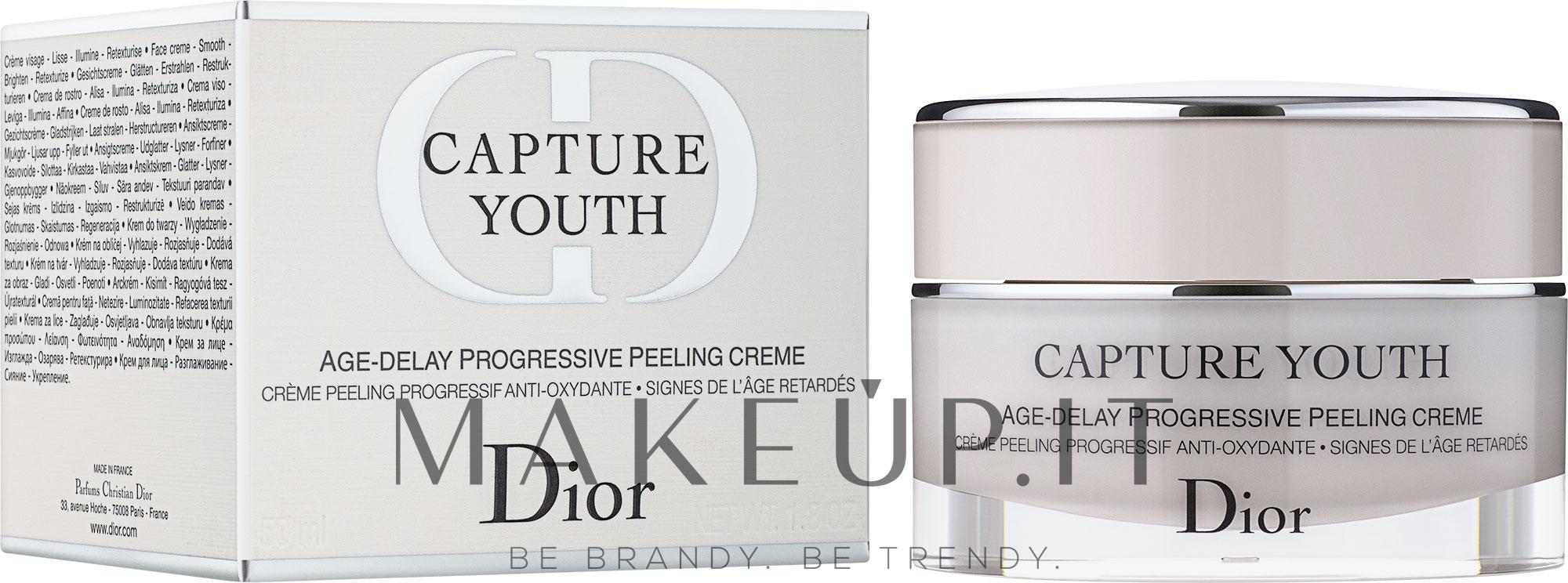 Crema-peeling anti-età - Dior Capture Youth Age-Delay Progressive Peeling Creme — foto 50 ml