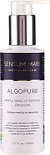 Profumi e cosmetici Emulsione struccante delicata - Sensum Mare Algopure Gentle Emulsion For Make-Up Removal