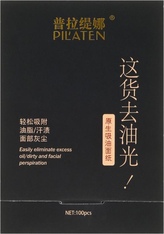 Salviette viso opacizzanti - Pil'aten Papeles Matificantes Native Blotting Paper