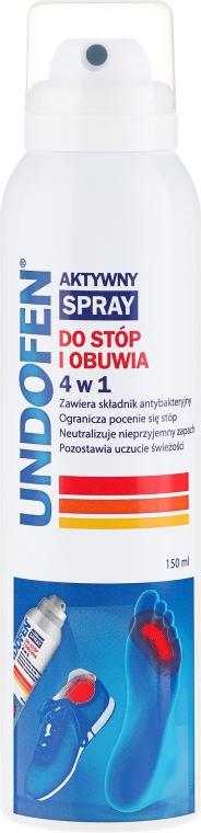 Spray per piede - Undofen Active Foot Spray 4in1