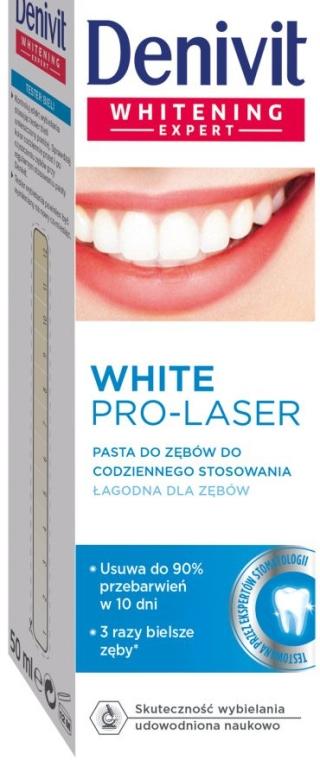 """Dentifricio sbiancante """"Pro Laser"""" - Denivit"""