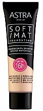 Profumi e cosmetici Fondotinta - Astra Soft Mat Foundation