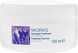 Profumi e cosmetici Trattamento piedi alla lavanda, da notte - Avon Foot Works Overnight Tretment