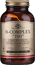 """Profumi e cosmetici Vitamine """"B-complex 100"""" - Solgar B-Complex"""