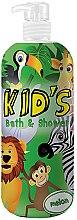 Profumi e cosmetici Bagnodoccia per bambini - Hegron Kid's Melon Bath & Shower