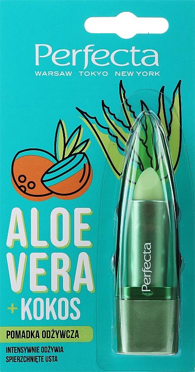 """Balsamo labbra nutriente """"Aloe vera e cocco"""" - Perfecta Aloe Vera + Coconut"""