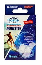 Profumi e cosmetici Cerotti impermeabili - Ntrade Active Plast First Aid Waterproof Plasters Aqua Stop Mix