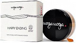 Profumi e cosmetici Cipria opacizzante - Uoga Uoga Happy Ending Finishing Powder