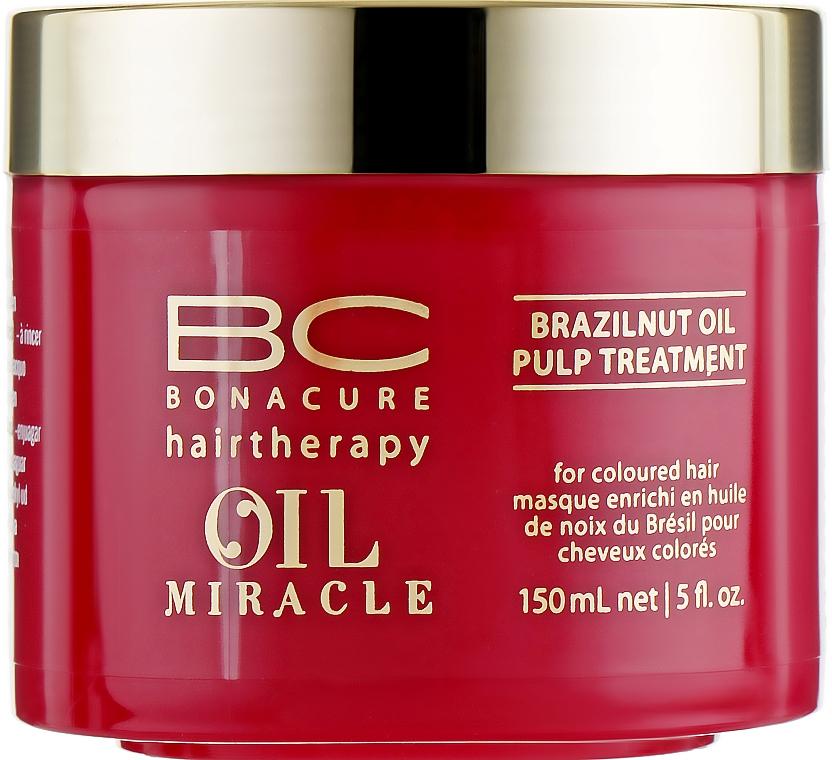 Maschera con olio di noce brasiliana - Schwarzkopf Professional Bonacure BC Miracle Brazilnut Oil Pulp Treatment — foto N1