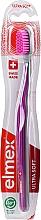 Profumi e cosmetici Spazzolino da denti, ultra morbido, grigio-viola - Elmex Swiss Made Ultra Soft Toothbrush