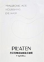 Profumi e cosmetici Maschera rivitalizzante contorno occhi - Pilaten Hyaluronic Acid Nourishing Eye Mask