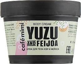 "Profumi e cosmetici Crema corpo ""Yuzu e Feijoa"" - Cafe Mimi Body Cream Yuzu And Feijoa"