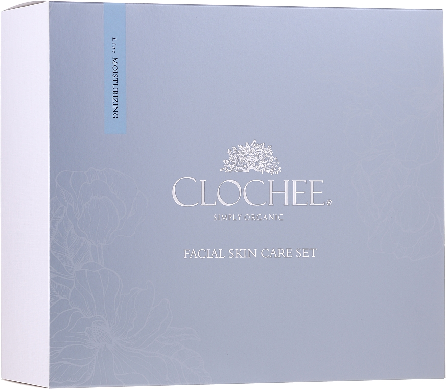 Set - Clochee Facial Skin Care Moisturising Set (ser/30ml + eye/cr/15ml + candle) — foto N1