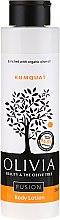 "Profumi e cosmetici Lozione corpo ""Kumquat"" - Olivia Beauty & The Olive Fusion Body Lotion Kumquat"